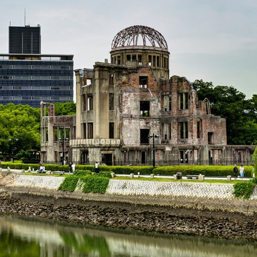Hiroshima Peace Memorial, known as Atomic Bomb Dome or A-Bomb Dome Genbaku Domu, Hiroshima, Japan / Photo credits: mathias_berlin / 2017 / Source: depositphotos.com, ©2019