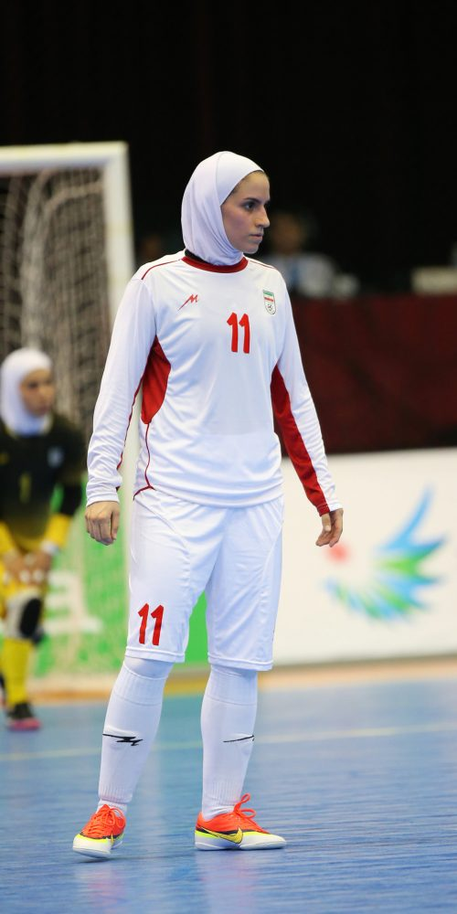 Ardallani Niloofar of Iran participates in an Asian Indoor and Martial Arts Games 2013, South Korea / Photo credits: pal2iyawit / 2013 / Source: depositphotos.com, ©2019