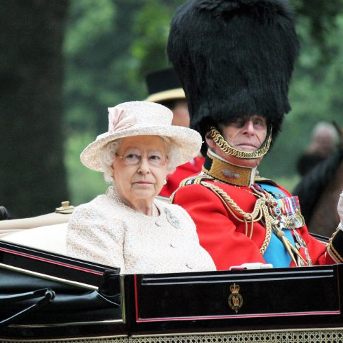 The Queen Elizabeth and Prince Phillip appear during Trooping the Colour ceremony / Photo credits: cheekylorns2 / 2013 / Source: depositphotos.com, ©2019