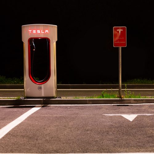 Tesla charging stations are located throughout EU to accommodate owners of the electric car / Photo credits: jag_cz / 2016 / Source: depositphotos.com, ©2019