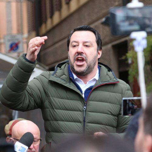 Matteo Salvini, public politic conference Lega Nord / Photo credits: frizio / 2018 / Source: depositphotos.com, ©2019