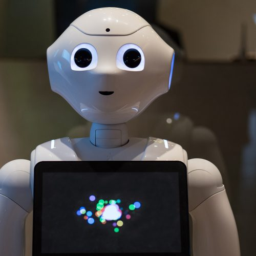 Pepper is a humanoid robot by Aldebaran Robotics and SoftBank / Photo credits: pio3 / 2018 / Source: depositphotos.com, ©2019