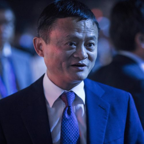 Jack Ma or Ma Yun, chairman of Alibaba Group, attends the 2018 World Artificial Intelligence Conference (WAIC) in Shanghai, China / Photo credits: Imaginechina-Editorial / 2018 / Source: depositphotos.com, ©2019
