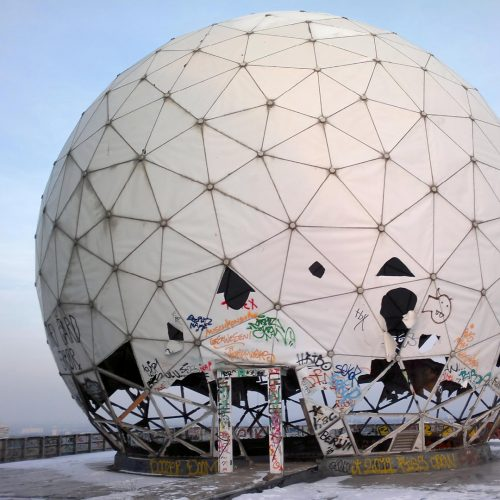 The former listening post of the USA on the Teufelsberg in Berlin / Photo credits: 360ber / 2012 / Source: depositphotos.com, ©2019