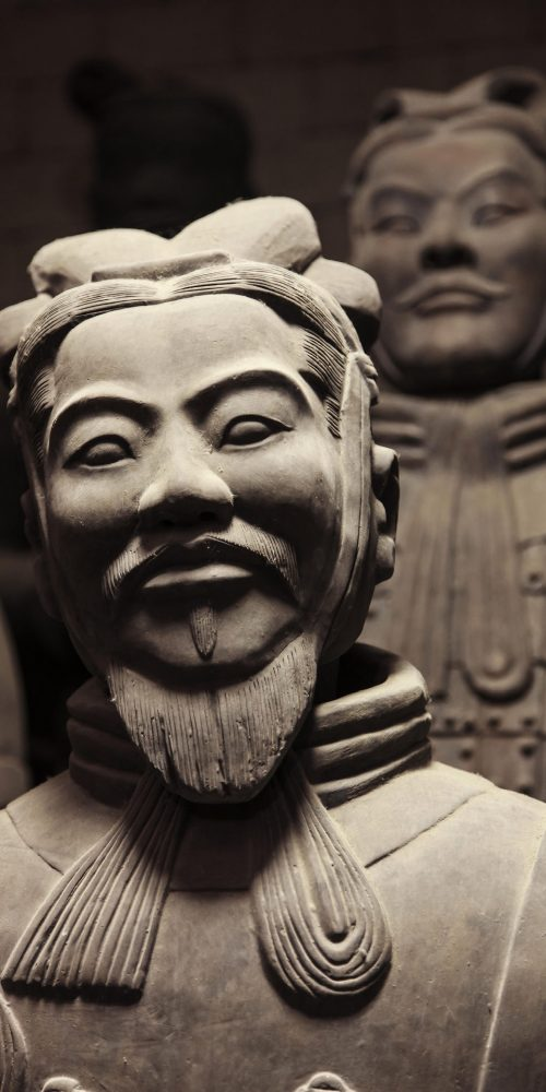 Terracotta warriors in China in close up / Photo credits: pwollinga / 2012 / Source: depositphotos.com, ©2019